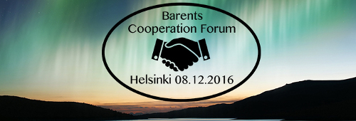 Barents Cooperation Forum on 8 December 2016 in Helsinki